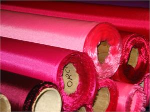 nylon banner fabric - ruby and magenta colors