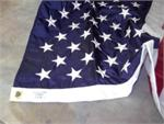 US nylon flag embroidered  stars